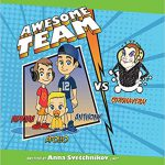 Awesome Team VS Coronavera By Anna Svetchnikov